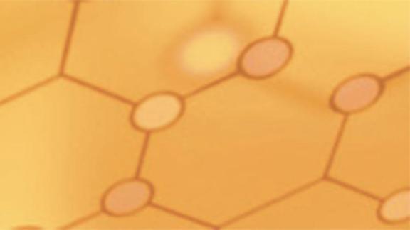 A honeycomb pattern