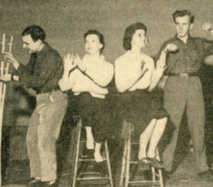 """The cast rehearses for """"Guys and Dolls"""""""