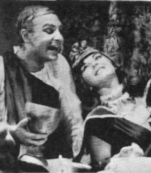 Jerry Music plays Antony with Lita Powell as Cleopatra.