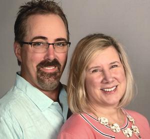 Sherri and her husband, Kirk Myhra '85