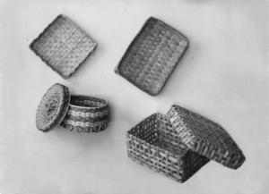 Baskets made by children