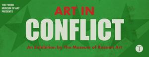 Cover text: Art in Conflict