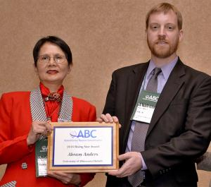 UMD Associate Professor Abram Anders receives award