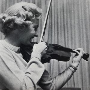 Ann as a student at UMD