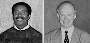 Harry Oden and Steve Fox were part of the 100th anniversary planning committee.