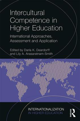 Book cover: Intercultural Competence in Higher Education