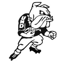 The first official Bulldog logo was introduced during the 1969-1970 school year.