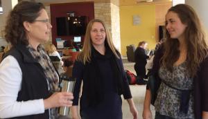 Karen Nichols, Dawn Eckdahl, and Megan Wagner