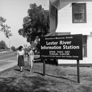 UMD Limnology building in the 1950s