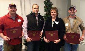 Four earn their Continuing Education Certificate in Frontline Leadership