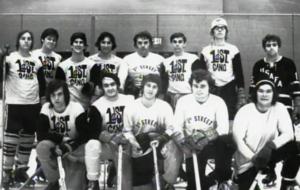 First Street Gang intramural hockey team