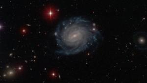 Galaxy discovered by UMD grad student Burcin Mutlu-Pakdil