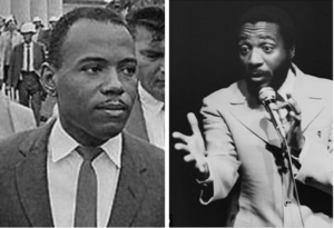 James Meredith and Dick Gregory