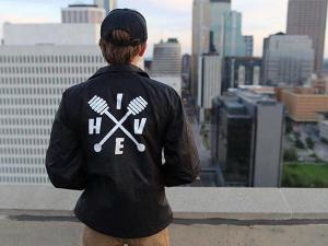 A promo for Hive Apparel's new clothing line. Photo from Hive Apparel Facebook page.