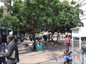 Harare street scene