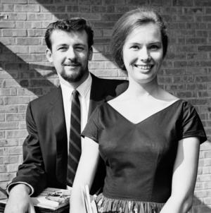 Johan and Susan at UMD