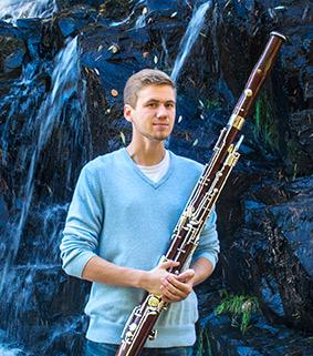 UMD music education student Karl Kubiak