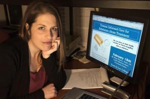 UMD Assistant Professor Laura Palombi