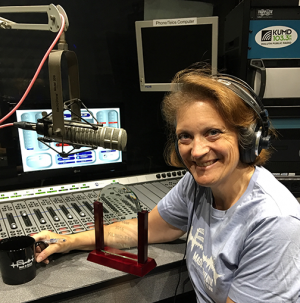 Lisa Johnson has been KUMD's Northland Morning host and producer since 1991.