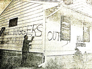 Vandalism of the home of an African American family was just one of the examples of racism in Duluth during the 1960s.