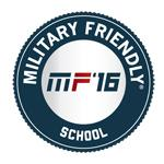 military friendly school crest