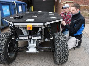 UMD students built a robotic pack mule