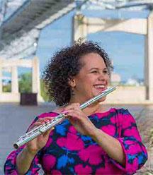 UMD Assistant Professor of Flute Paula Gudmundson