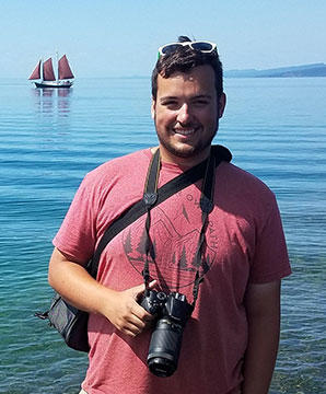 UMD student Noah Gagnon