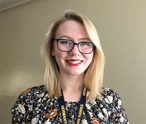 UMD student Sarah Bodin