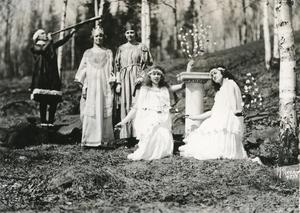 Students Performing Unknown Play