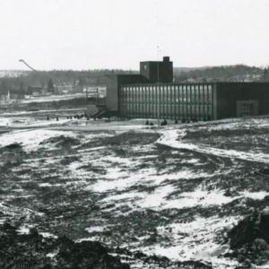 The Science Building in 1950