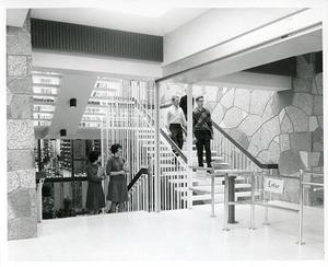 UMD original library staircase