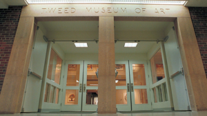 Exterior of the Tweed Museum of Art