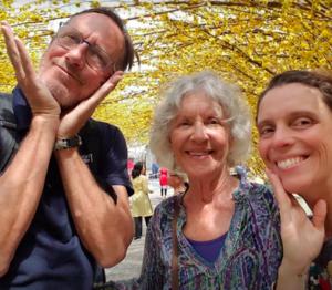 John, Maxine and Heather-Marie