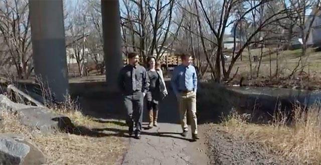 UMD Environmental Sustainability majors at Keene Creek