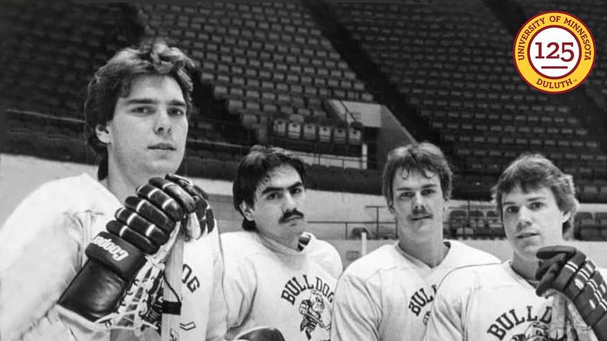 Tom Kurvers, Bill Watson, Mike Christensen, and Tom Herzig
