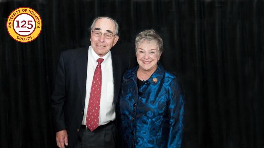 Joel Labovitz and Elaine Hanson