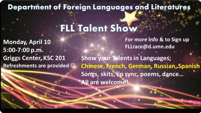 FLL Talent Show 2017 | News