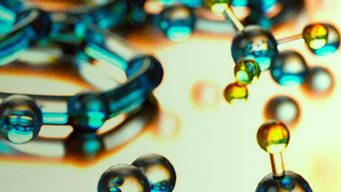 image of molecules