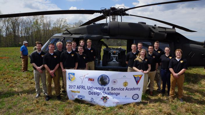 UMD Students win Air Force Research Challenge