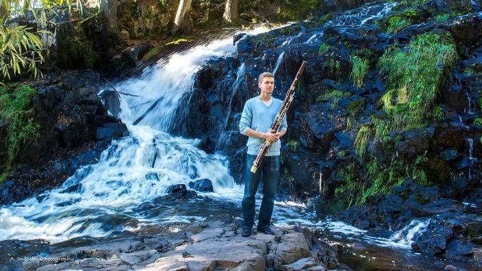 UMD music education student Karl Kubiak