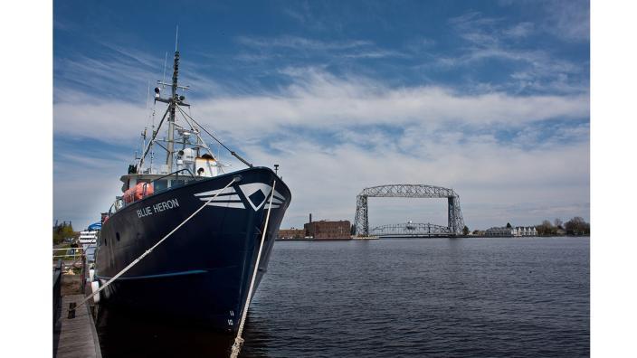 UMD Research Vessel Blue Heron