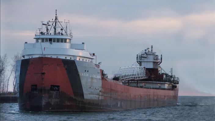 the Cason Calloway oreboat