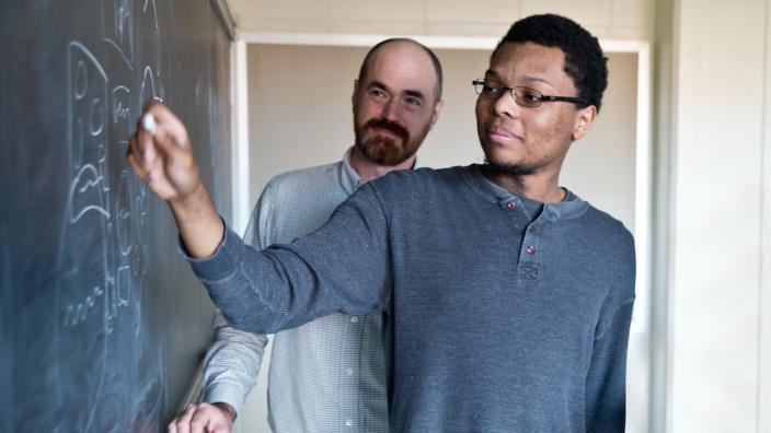 Charles McGregor and Dan Nolan (background)