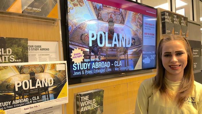 UMD Social Work major Claire Desautels
