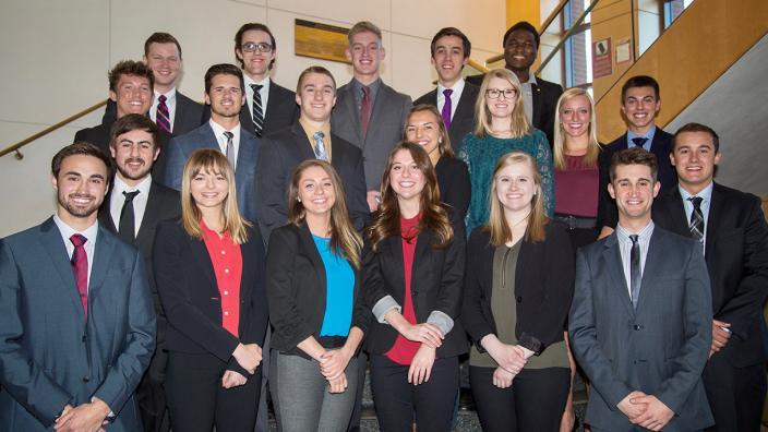 UMD students involved in UMD Enterpreneurship Conference