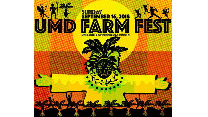 UMD Farm Fest 2018 poster: Magical Scarecrow