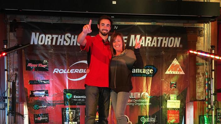 Brandon Colucci Inline Marathon