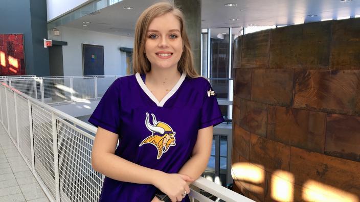 UMD student Jenny Burns