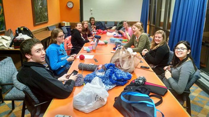 UMD student club Knit Wits